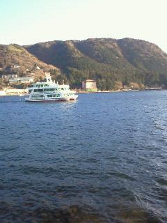芦ノ湖だよん♪